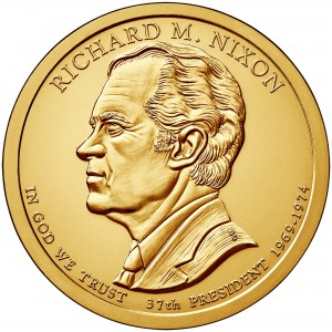 1 $ Prezydenci USA - Richard M. Nixon 2016 P