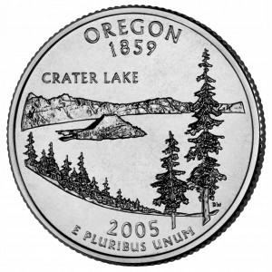 25 c Stany USA Oregon State Quarter 2005 P nr 33