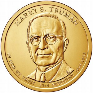1 $ Prezydenci USA - Harry S. Truman 2015 D nr 33